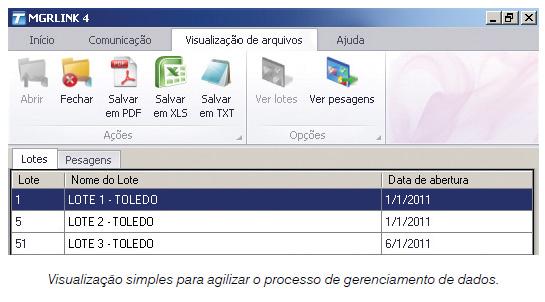 MGR-LINK (Software de comunicação entre Balança e Computador)