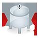Módulo de pesagem compressão - Montagem universal