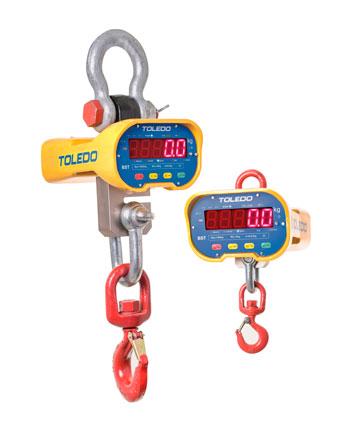 Balança Suspensa Toledo com certificado de rastreabilidade de seus componentes.