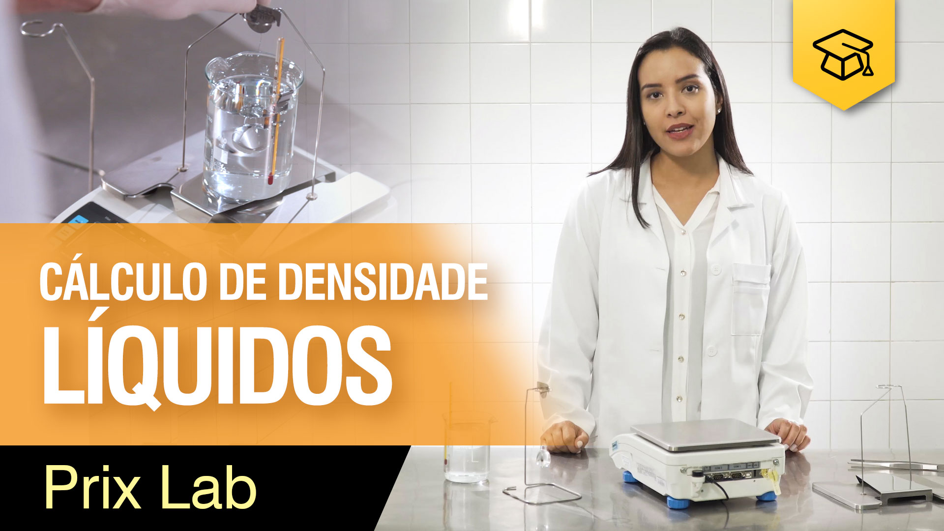 Cálculo de densidade de líquidos - Prix Lab