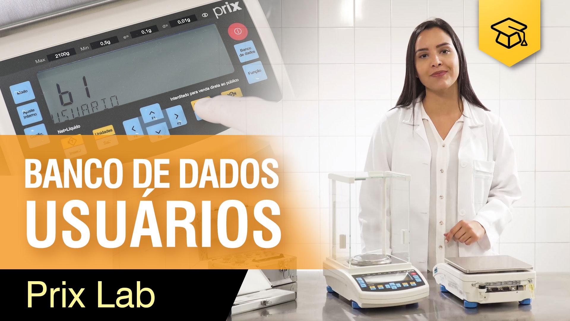 Banco de Dados (Usuário) - Prix Lab
