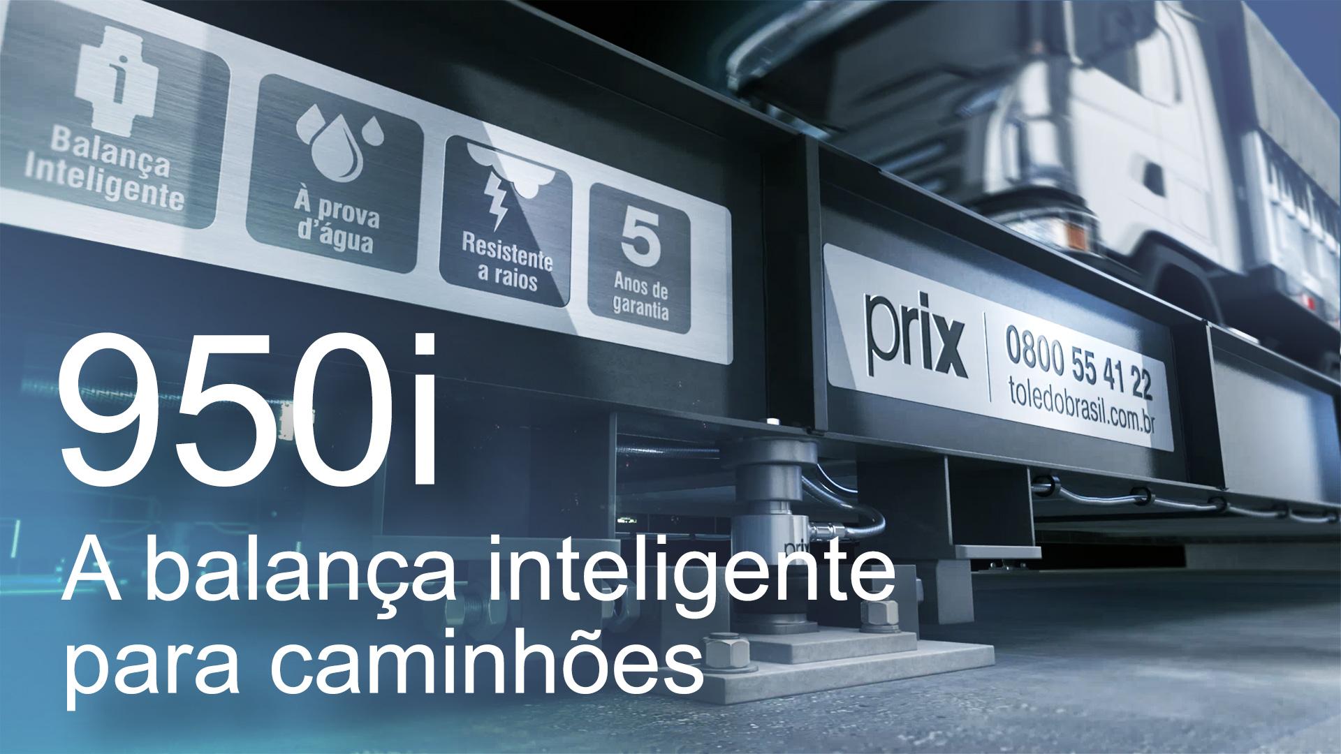 Toledo do Brasil: 950i - Balança para caminhões