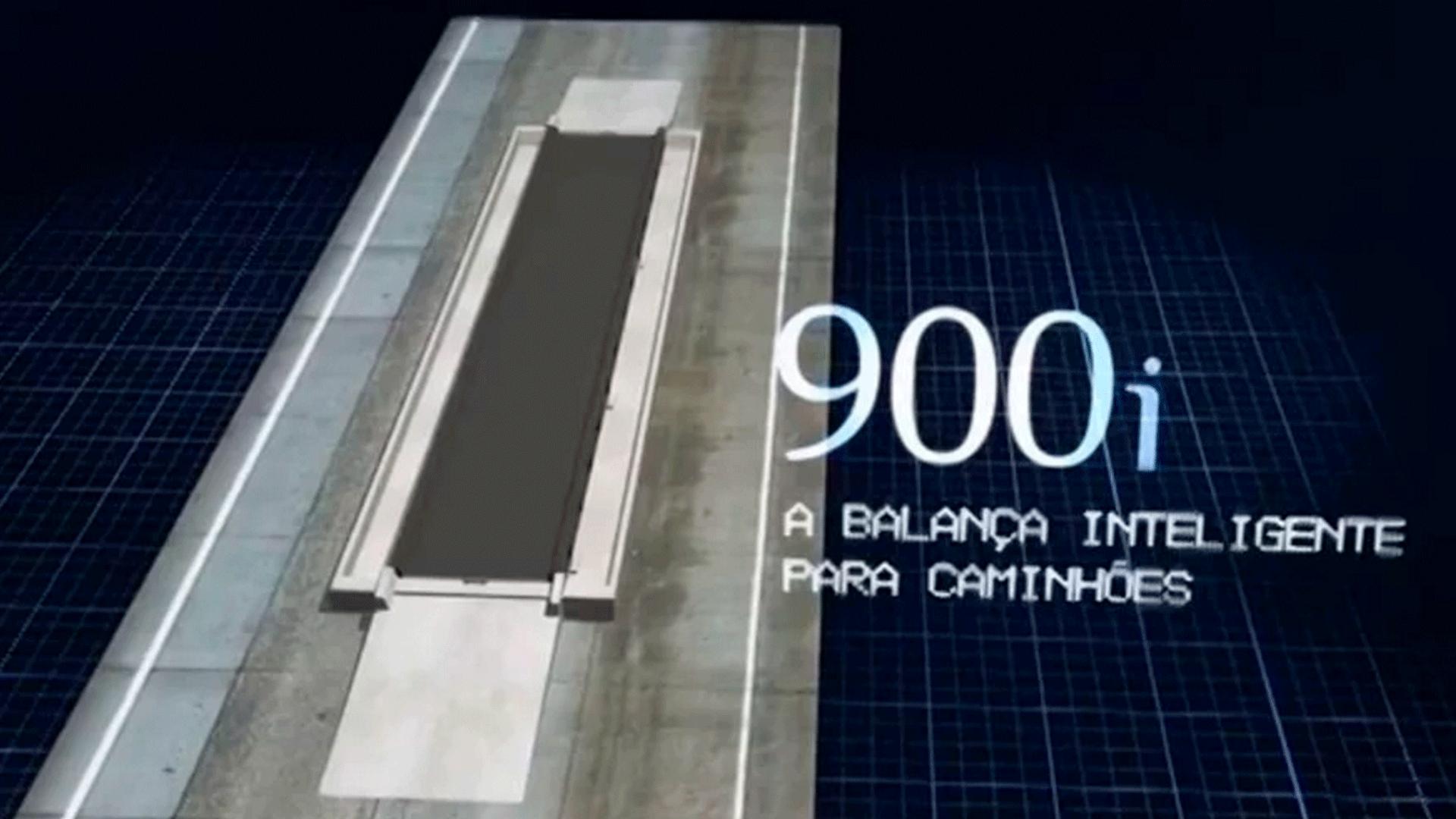 900i. A balança inteligente para caminhões