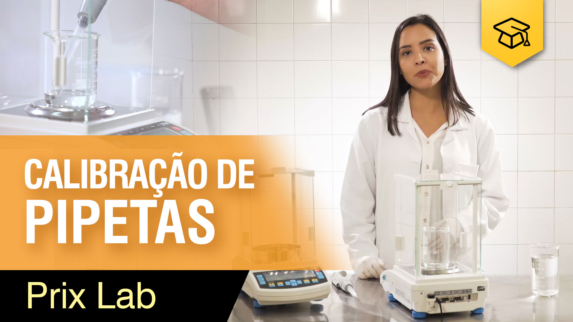 Calibração de Pipetas - Prix Lab