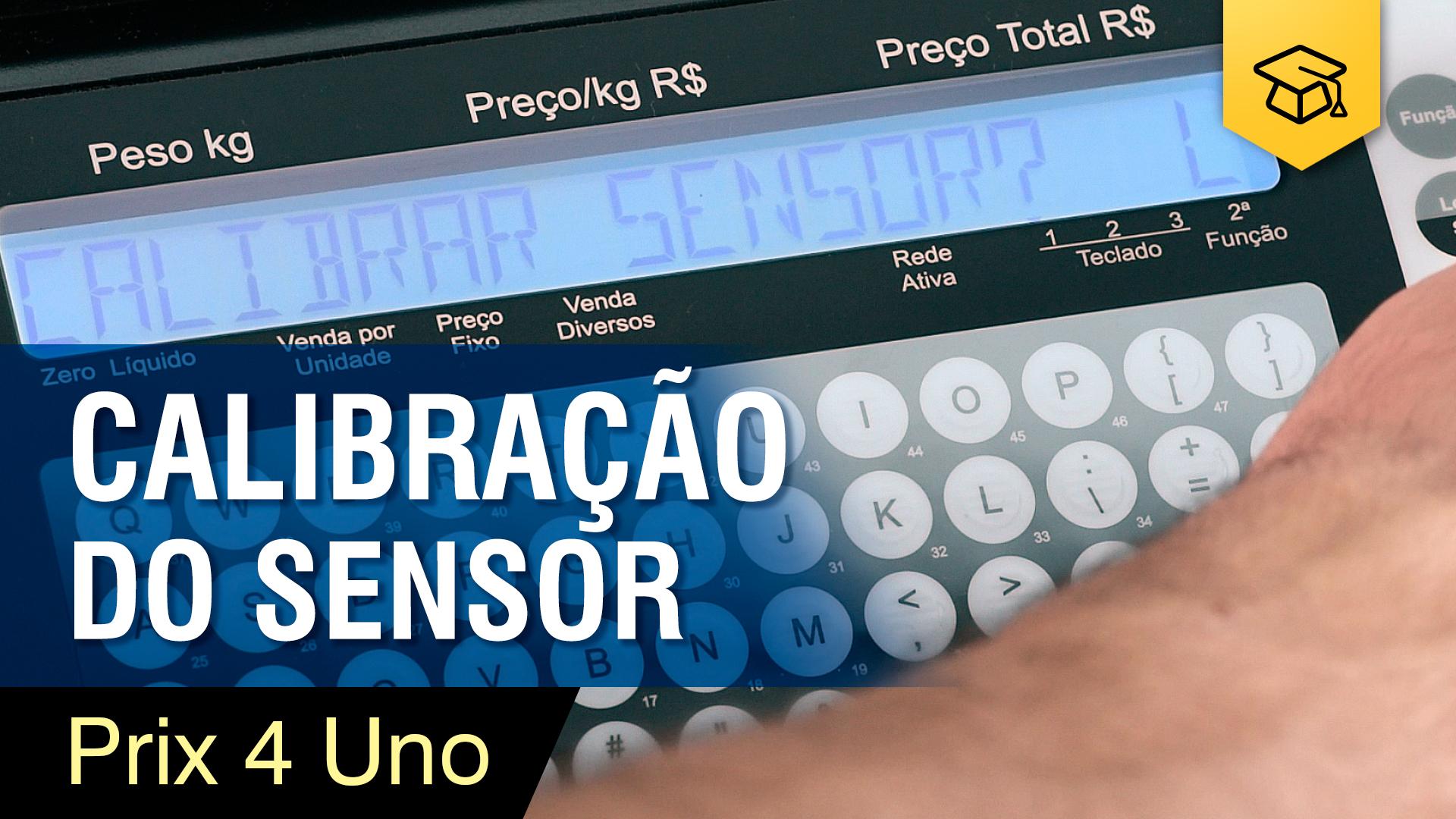 Prix 4 Uno - Calibração de Sensor