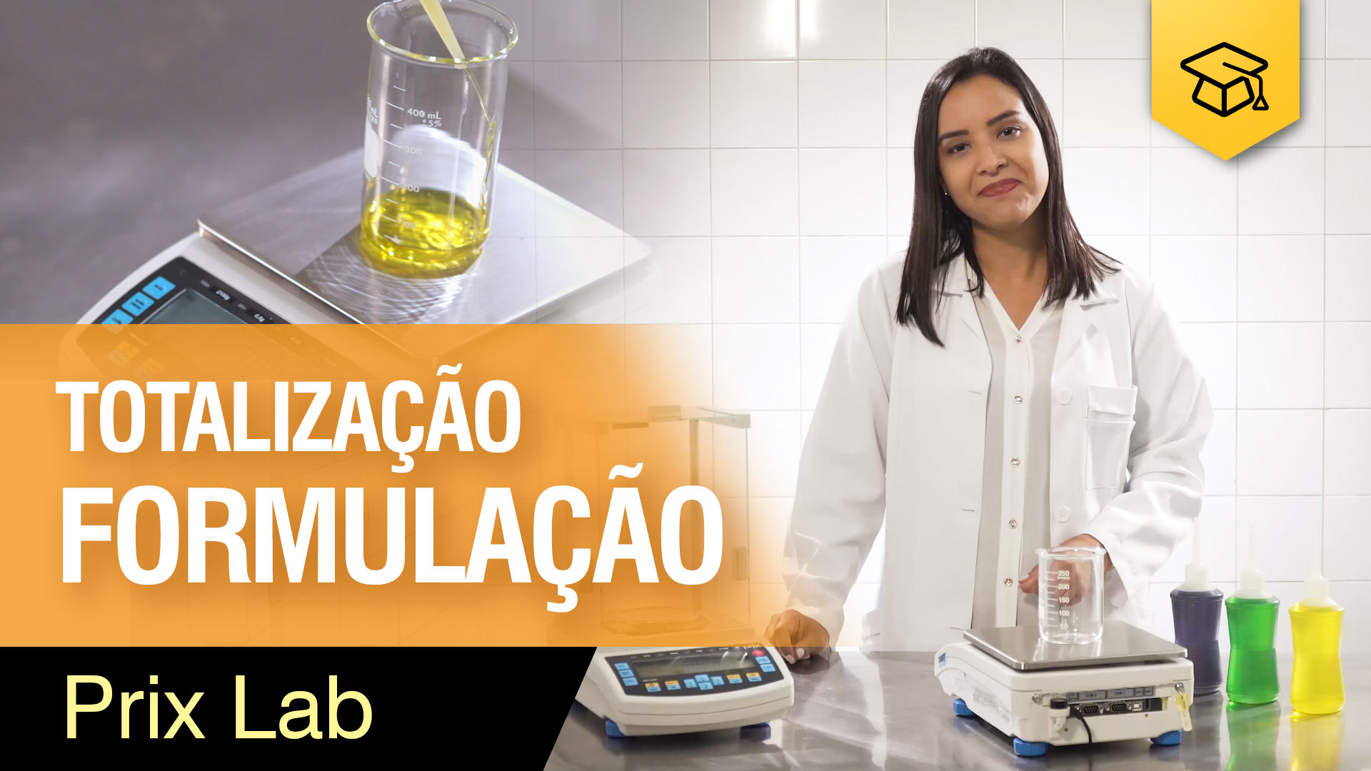 Totalização / Formulação - Prix Lab
