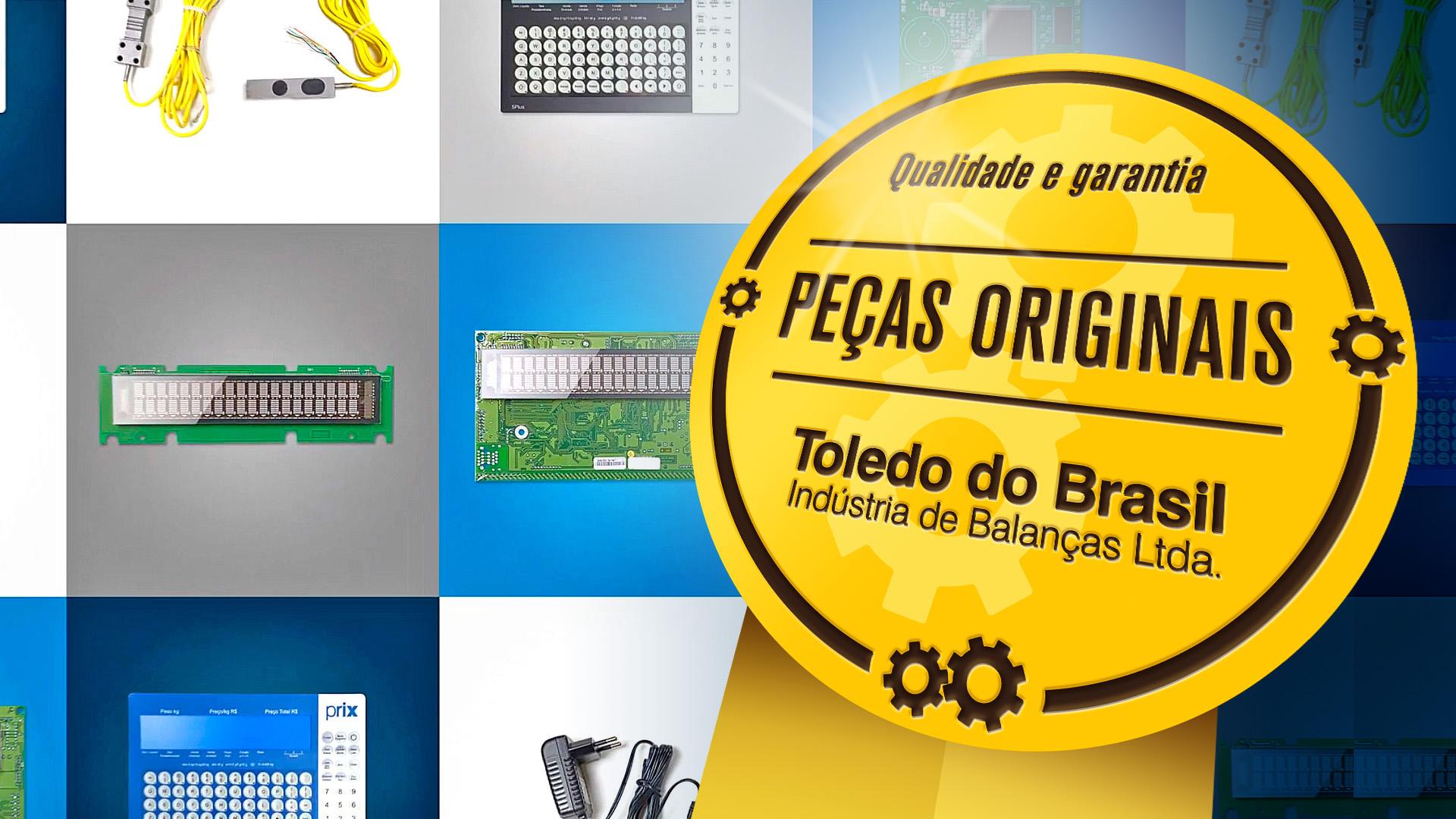 Peças originais Toledo do Brasil