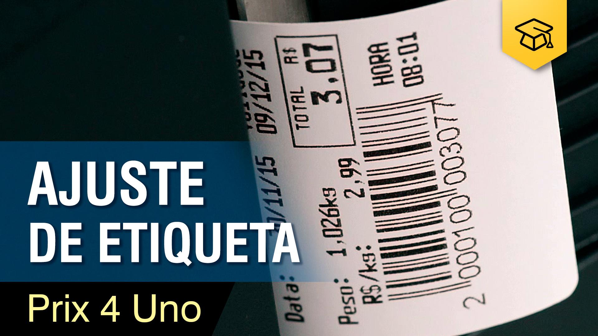 Prix 4 Uno - Ajuste de Etiqueta