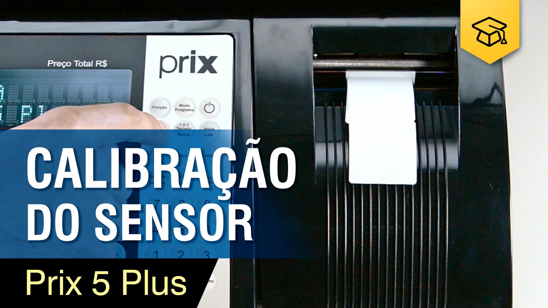 Prix 5 Plus - Calibração de Sensor