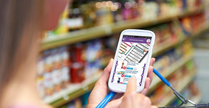 Solução de Etiquetas Eletrônicas faz rota de compras para cliente